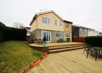 Thumbnail 4 bed detached house for sale in Cynon View, Cilfynydd, Pontypridd