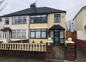 Thumbnail 3 bed semi-detached house to rent in Stuart Road North, Bootle