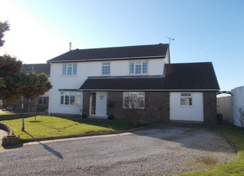 Thumbnail 4 bed detached house for sale in Ramsey Close, Rest Bay, Porthcawl