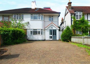 Thumbnail 4 bed semi-detached house to rent in Nightingale Road, Hampton