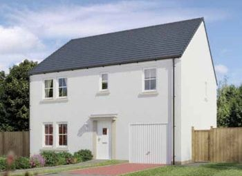 "Thumbnail 5 bedroom detached house for sale in ""The Waterside"" at Stable Gardens, Galashiels"
