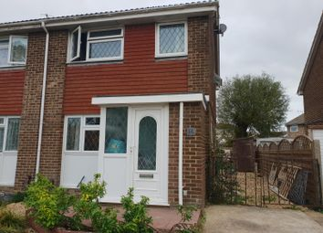 Thumbnail 3 bed semi-detached house to rent in Edmonton Road, Worthing, West Sussex