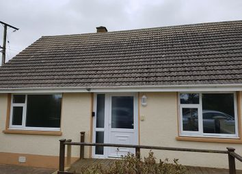 Thumbnail 2 bed semi-detached bungalow to rent in Min Y Rhos, Llanwnda, Goodwick