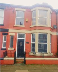 Thumbnail 4 bedroom terraced house to rent in Fareham Road, Fairfield, Liverpool