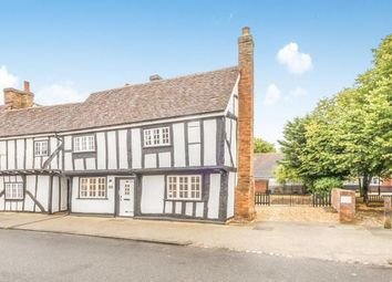 Thumbnail 3 bed end terrace house for sale in Bunyans Mead, Elstow, Bedford, Bedfordshire