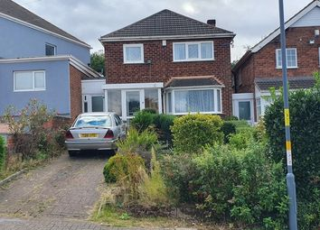 Thumbnail 3 bed detached house for sale in Chalcot Grove, Birmingham