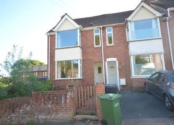 Thumbnail 3 bed end terrace house for sale in Latimer Road, Exeter, Devon