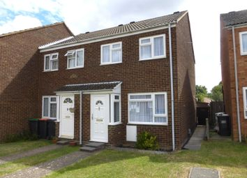 Thumbnail 2 bed end terrace house for sale in Eastdale Close, Kempston, Bedford, Bedfordshire