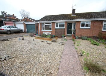 Thumbnail 2 bed terraced bungalow for sale in Bampfylde Close, Tiverton