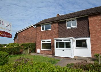 Thumbnail 3 bed end terrace house to rent in Coleridge Crescent, Hereford