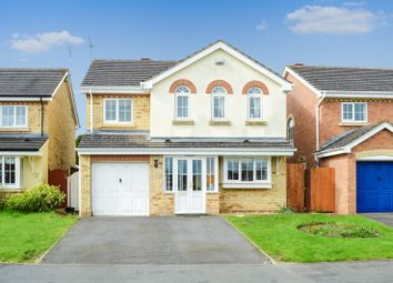 Thumbnail 4 bed detached house for sale in Smore Slade Hills, Oadby, Leicester
