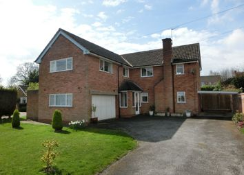 Thumbnail 5 bed detached house for sale in Newnham Rise, Shirley, Solihull