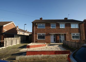 Thumbnail 3 bed semi-detached house for sale in Charlbury Road, Middlesbrough