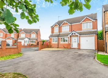 Thumbnail 5 bed detached house for sale in Hebden Grove, Willenhall