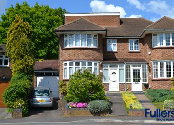 Thumbnail 4 bed semi-detached house for sale in Hadley Close, Winchmore Hill