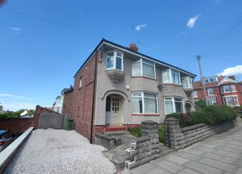 Thumbnail 3 bed semi-detached house for sale in Wallacre Road, Wallasey