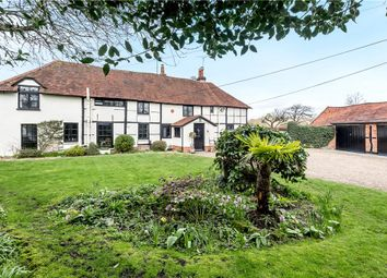 Thumbnail 4 bed semi-detached house for sale in Eversley Cross, Hook, Hampshire