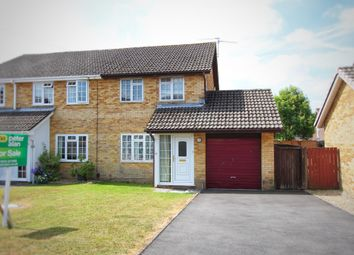 Thumbnail 2 bed semi-detached house for sale in Kent Close, Rogerstone, Newport