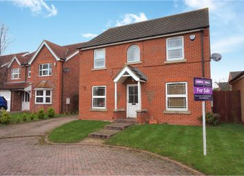 Thumbnail 4 bedroom detached house for sale in Cherry Close, Humberston, Grimsby
