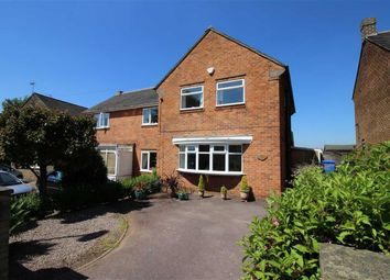 Thumbnail 3 bed semi-detached house for sale in Laburnum Crescent, Allestree, Derby