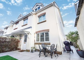 Thumbnail 4 bed end terrace house for sale in Knights Mead, Chudleigh Knighton, Chudleigh, Newton Abbot