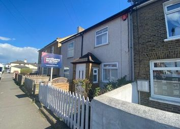Thumbnail 2 bed end terrace house to rent in The Grove, Swanscombe