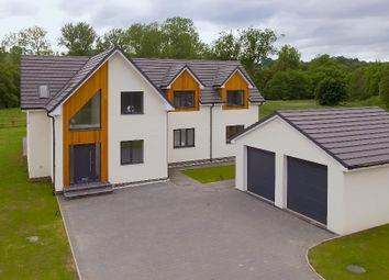 Thumbnail 4 bed detached house for sale in Stirling Road, Castlehill Industrial Estate, Carluke