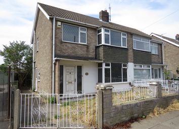 Thumbnail 3 bed semi-detached house for sale in Baroness Road, Grimsby