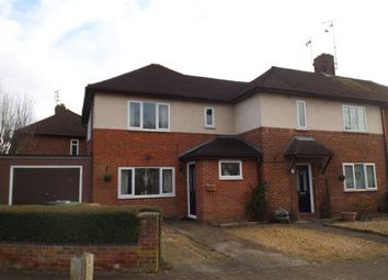 Thumbnail 5 bed semi-detached house for sale in Chaucer Road, Peterborough, Cambridgeshire