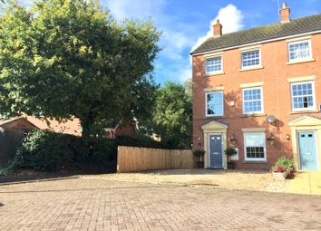Thumbnail 3 bed town house for sale in Gibson Close, Nantwich