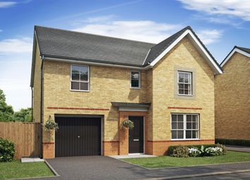 "Thumbnail 4 bed detached house for sale in ""Ripon"" at Lightfoot Lane, Fulwood, Preston"