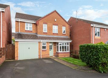 Thumbnail 4 bed detached house for sale in Barn Way, Cannock