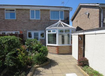 Thumbnail 3 bed semi-detached house for sale in Kalmia Green, Gorleston, Great Yarmouth