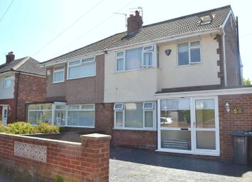 Thumbnail 4 bed semi-detached house for sale in Liddell Avenue, Melling, Liverpool