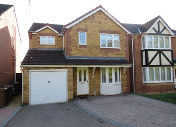 Thumbnail 3 bed detached house for sale in Spencelayh Close, Wellingborough