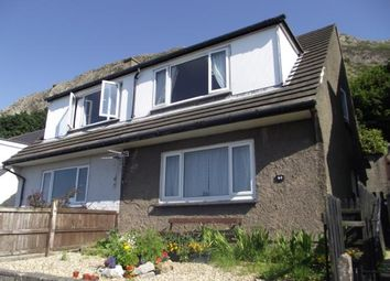 Thumbnail 3 bed semi-detached house for sale in Pendalar, Llanfairfechan, Conwy