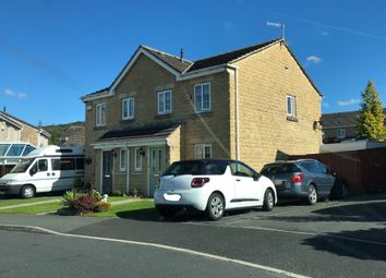 Thumbnail 3 bed semi-detached house for sale in Hurst Crescent, Shirebrook, Glossop