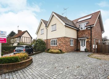 Thumbnail 4 bed semi-detached house for sale in Tilkey Road, Coggeshall, Colchester