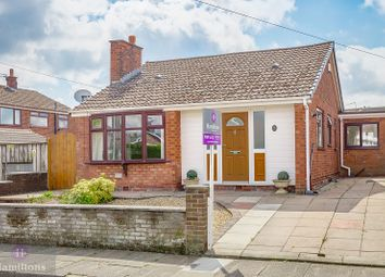Thumbnail 3 bed detached bungalow for sale in Arundel Drive, Leigh, Greater Manchester.
