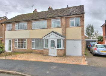 Thumbnail 4 bed semi-detached house for sale in Oak Road, Littlethorpe, Leicester