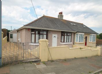 Thumbnail 3 bed semi-detached bungalow for sale in Ernesettle Crescent, Plymouth