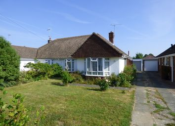 Thumbnail 3 bed semi-detached bungalow for sale in Harwood Avenue, Goring-By-Sea, Worthing