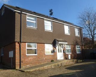 Thumbnail 2 bed flat to rent in Spitfire Court, East Grinstead