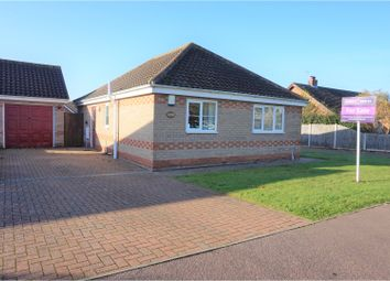 Thumbnail 2 bed detached bungalow for sale in Pit Road, Great Yarmouth