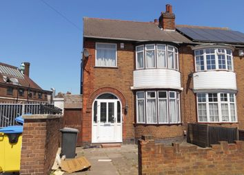 Thumbnail 3 bed semi-detached house for sale in Canon Street, Leicester
