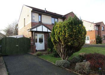 Thumbnail 2 bed semi-detached house for sale in 25 Broadoaks Grange, Carlisle, Cumbria