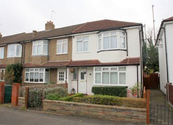 Thumbnail 3 bedroom end terrace house for sale in Stainash Crescent, Staines-Upon-Thames, Surrey