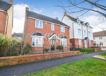 Thumbnail 4 bedroom detached house for sale in Wickstead Avenue, Grange Farm, Milton Keynes, Buckinghamshire