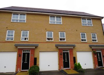 Thumbnail 3 bed town house for sale in Justice Way, Hampton Vale, Peterborough