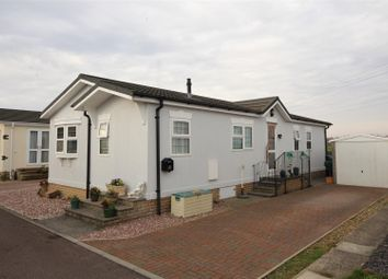 Thumbnail 2 bed mobile/park home for sale in The Firs, Fulbourn Old Drift, Cambridge